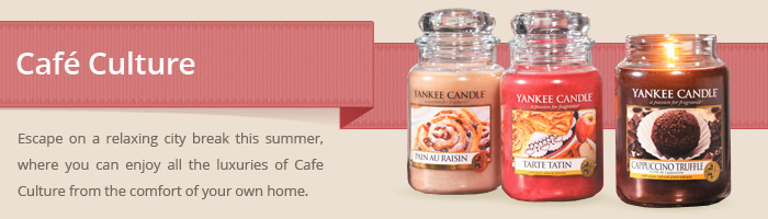 Yankee Candle - Cafe Culture
