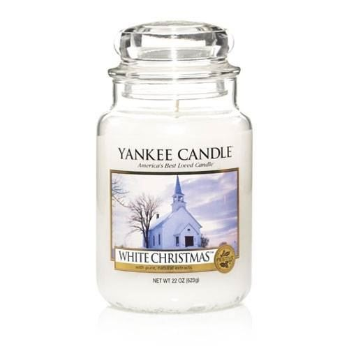White Christmas Large Yankee Candle