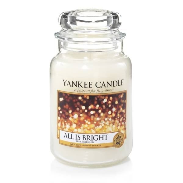 All is Bright Large Yankee Candle