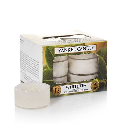 White Tea Tea Lights - Box 12