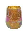 Gold Mosaic Jar Holder