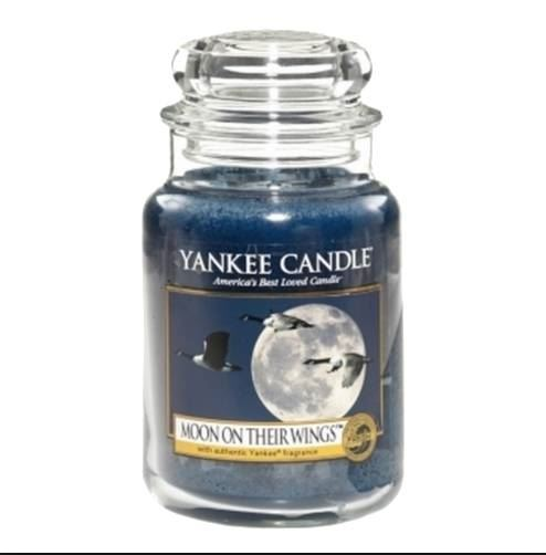 Moon on their Wings Large Yankee Candle