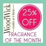 WoodWick - Fragrance of Month