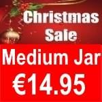Christmas Medium Jars