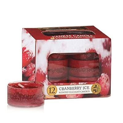 Cranberry Ice Tea Lights