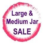 Large & Medium Jar Clearance
