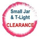 Small Jar & Tealight Clearance