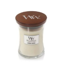 Smoked Jasmine - Woodwick Medium Candle