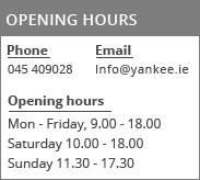 Yankee.ie Contact details