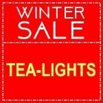 TEA LIGHTS SALE