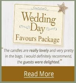 Yankee Candle Wedding Favours