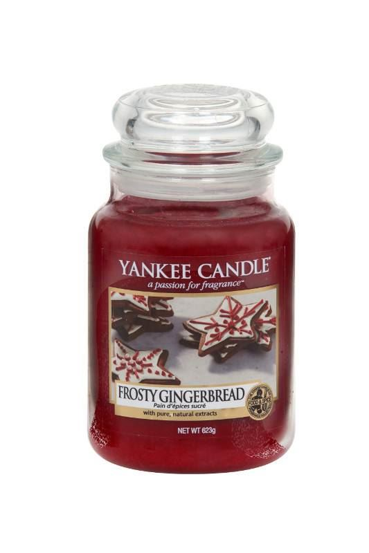 Frosty Gingerbread Large Yankee Candle