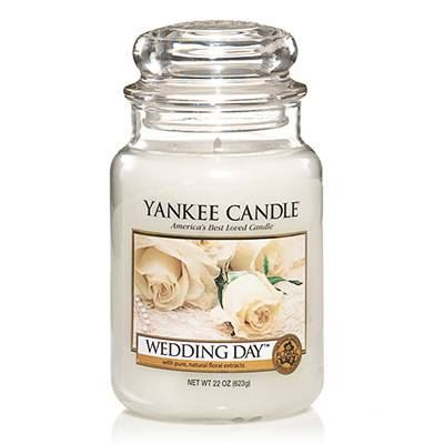 Wedding Day Large Yankee Candle