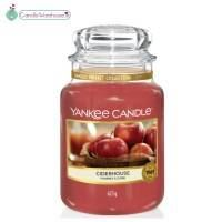 Ciderhouse Large Yankee Candle