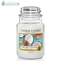 Coconut Splash Large Yankee Candle