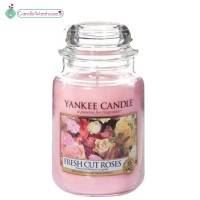 Fresh Cut Roses Large Yankee Candle