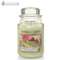 Lemongrass & Ginger Large Yankee Candle