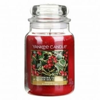 Hollyberry Large Yankee Candle