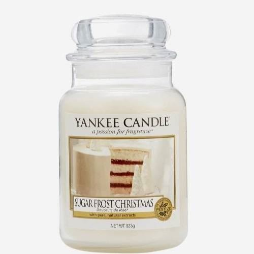 Sugar Frosted Christmas Large Yankee Candle