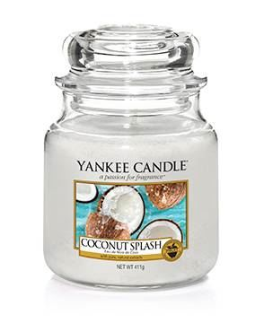 Coconut Splash Medium Yankee Candle