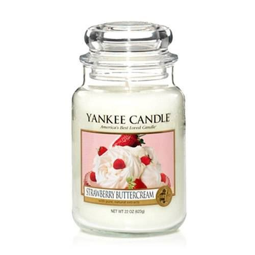 Strawberry Buttercream Large Yankee Candle